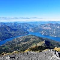 Randonnée : Pic Morgon, belvédère sur le lac de Serre-Ponçon.