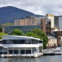 TASMANIE Hobart, le Mount Wellington et le musée MONA