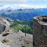Rando historique entre la France et l'Italie, le Chaberton dans les Hautes-Alpes.